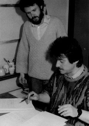 Jarosław Dalecki, Teodor Baranowski - 1983 (Redakcja PI Polskie Radio)