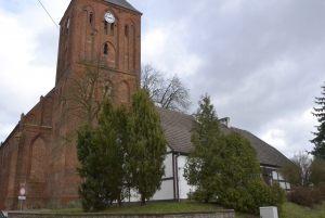 Kościół i biblioteka miejska