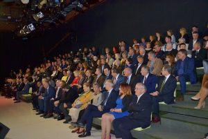 """publiczność w studio TVP3 podczas finałowej gali konkursu """"Dziennikarz Roku 2016"""""""