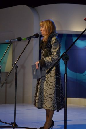 """Anna Kolmer - przewodnicząca Stowarzyszenia Dziennikarzy RP """"Pomorze Zachodnie"""""""
