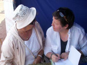 Elżbieta Bruska w rozmowie z czytelniczką o książkach Elizabeth von Arnim