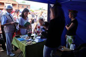 stoisko naszego Stowarzyszenia cieszyło się dużą popularnością, w szczególności publikacje naszych kolegów i koleżanek
