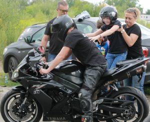 motocykle to gratka dla fanów dwóch kółek, odważni mogli spróbować jazdy, oczywiście tylko jako pasażer