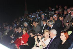 publiczność w studio TVP Szczecin podczas finałowej gali