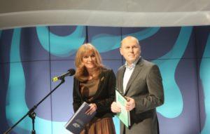 Anna Kolmer i Piotr Jasina