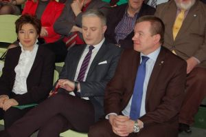od lewej: Maria Bartczak, Piotr Baranik, Jarosław Rzepa