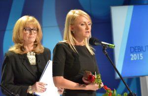 Anna Kolmer i Natalia Cistowska - laureatka nagrody DEBIUT ROKU 2015