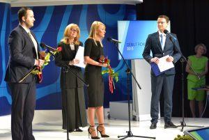 od lewej: Oskar Masternak, Anna Kolmer, Natalia Cistowska, Paweł Wiśniewski
