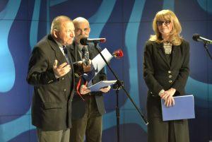 od lewej: Zygmunt Kowalski, Marek Rudnicki, Anna Kolmer