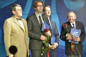 od lewej: Jan Sylwestrzak, Konrad Wojtyła, Leszek Sagan, Zygmunt Kowalski