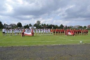 3. drużyny rugby armii kanadyjskiej oraz polskiej