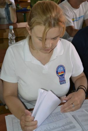 Zofia Sadłowska - szef oficerów łącznikowych