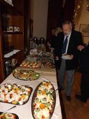 Spotkanie noworoczne dziennikarzy 05.02.2016, na zdjęciu: Andrzej Gedymin