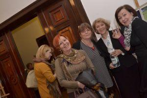 szczecińskie dziennikarki na spotkaniu z Włodzimierzem Piątkiem