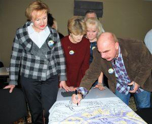 Lioni ze Szczecina w kolejce do podpisu flagi