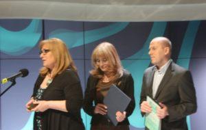 od lewej: Katarzyna Wolnik-Sayna, Anna Kolmer, Piotr Jasina